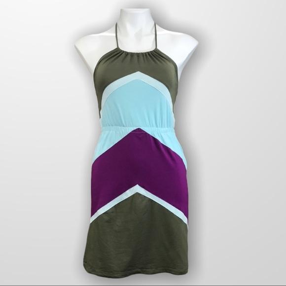 GARAGE Halter Mini Summer Dress Size…
